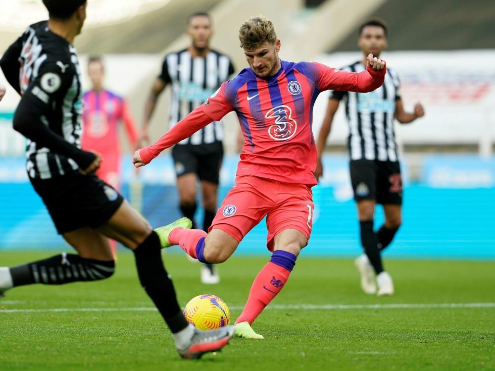 Chelsea und Werner siegen gegen Newcastle. ©SID OWEN HUMPHREYS