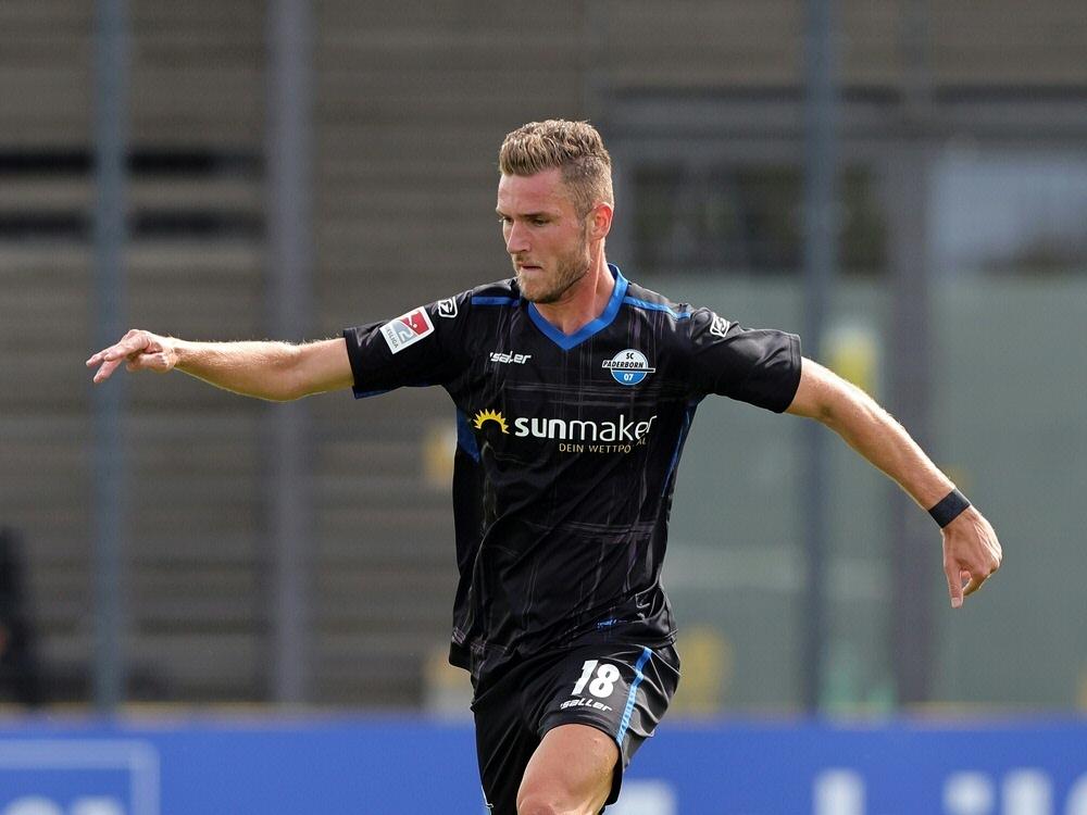 Dennis Srbeny traf zum 1:0 beim Sieg gegen St. Pauli. ©FIRO/SID