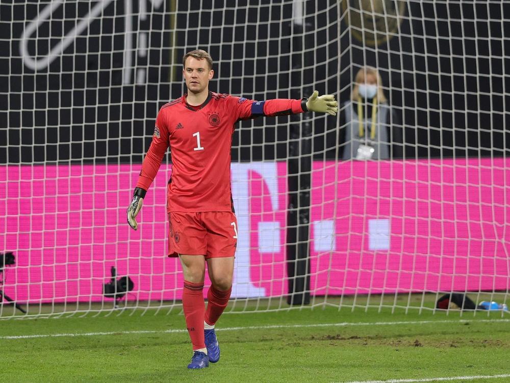 Manuel Neuer wird Rekord-Torwart. ©FIRO/SID