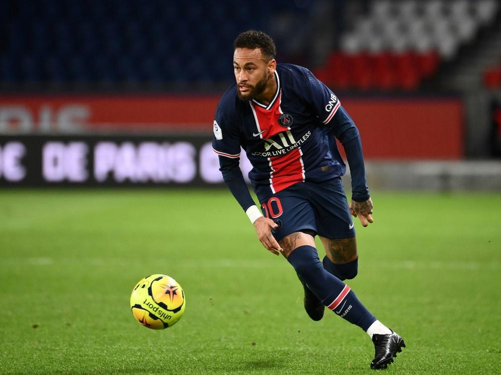 Neymar steht PSG gegen RB Leipzig wieder zur Verfügung. ©SID FRANCK FIFE