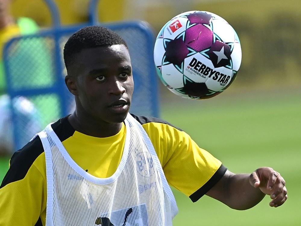 Moukoko jetzt jüngster Bundesliga-Spieler der Geschichte. ©SID/Archiv INA FASSBENDER
