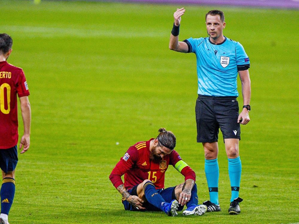 Real muss vorerst auf Ramos verzichten. ©SID Pablo Morano