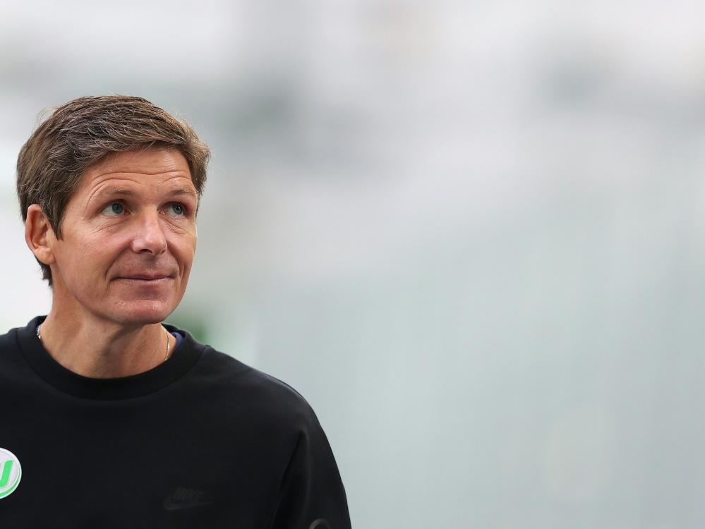 Trainer des VfL Wolfsburg: Oliver Glasner . ©SID RONNY HARTMANN