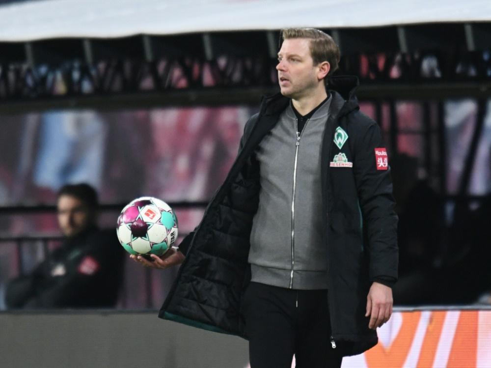 Zufrieden: Werder-Trainer Florian Kohfeldt. ©SID ANNEGRET HILSE