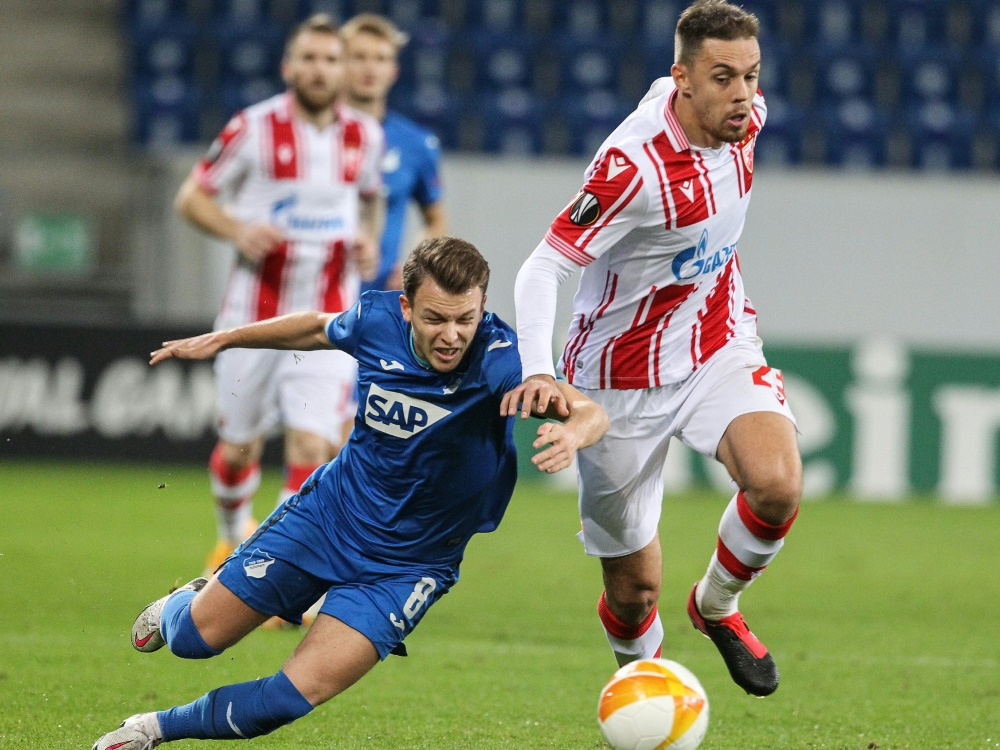 Hoffenheim will in Belgrad Gruppensieg perfekt machen. ©SID DANIEL ROLAND