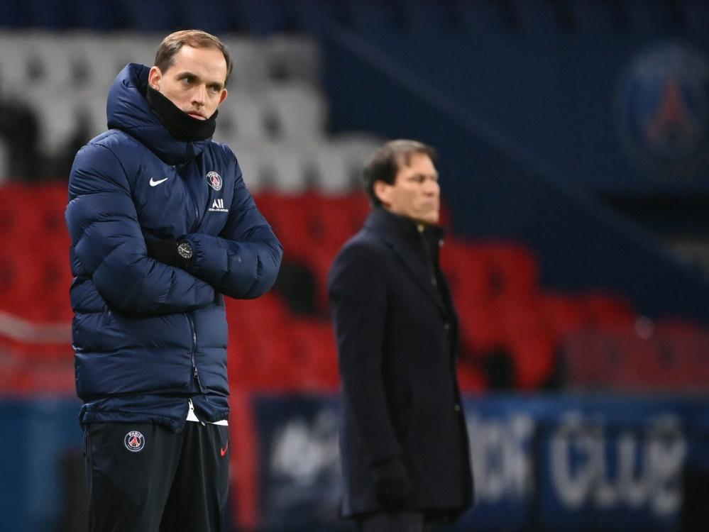 Tuchel blickt kritisch auf sein Trainerdasein bei PSG. ©SID FRANCK FIFE