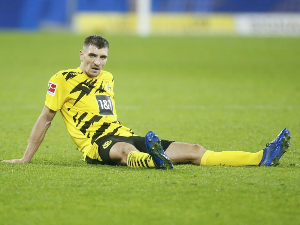 Meunier fehlt Borussia Dortmund verletzungsbedingt. ©SID LEON KUEGELER