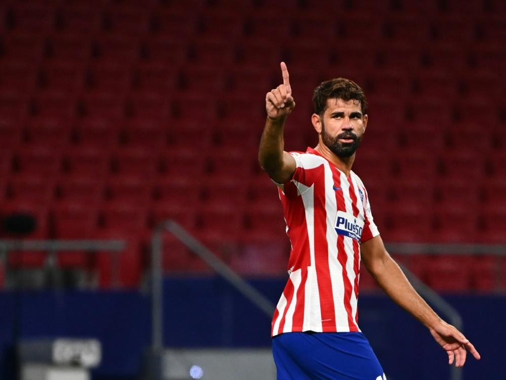 Diego Costa und Atletico Madrid lösen Vertrag auf. ©SID GABRIEL BOUYS