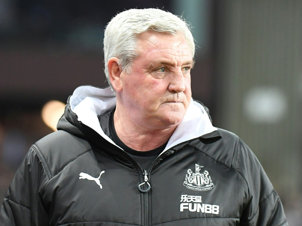 Trainer von Newcastle United: Steve Bruce. ©FIRO/SID