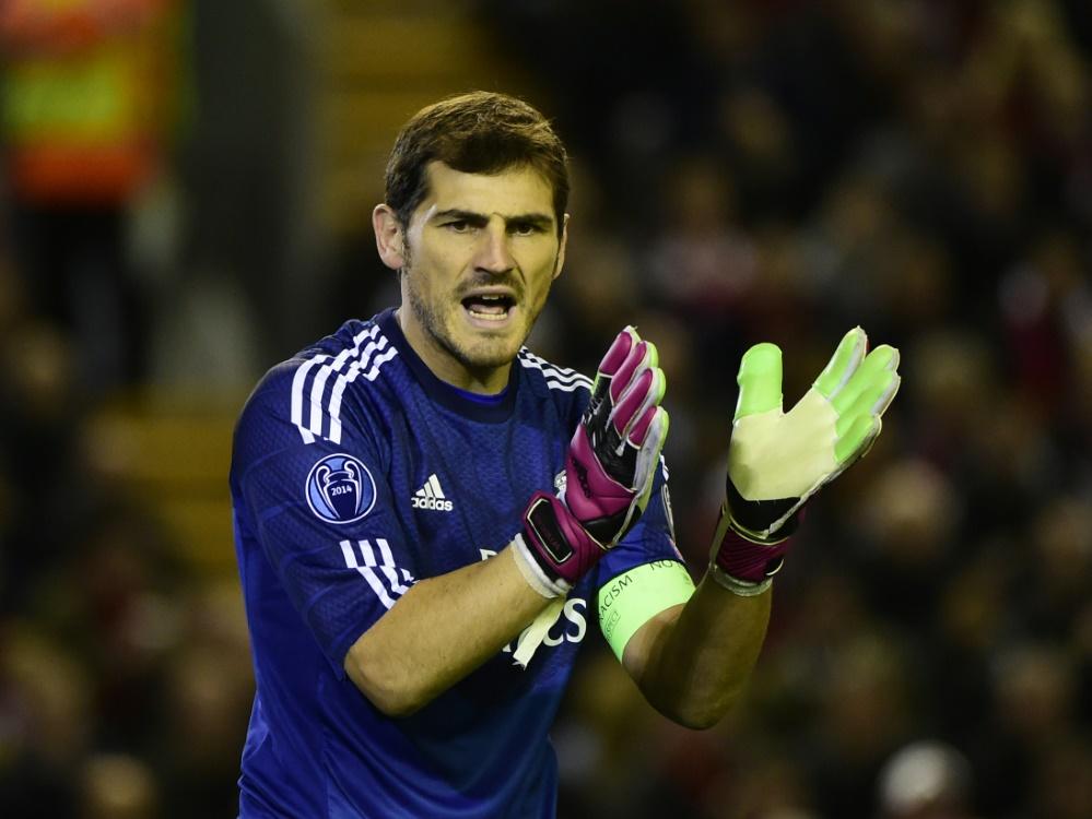 Iker Casillas kehrt zu Real Madrid zurück. ©SID PIERRE-PHILIPPE MARCOU