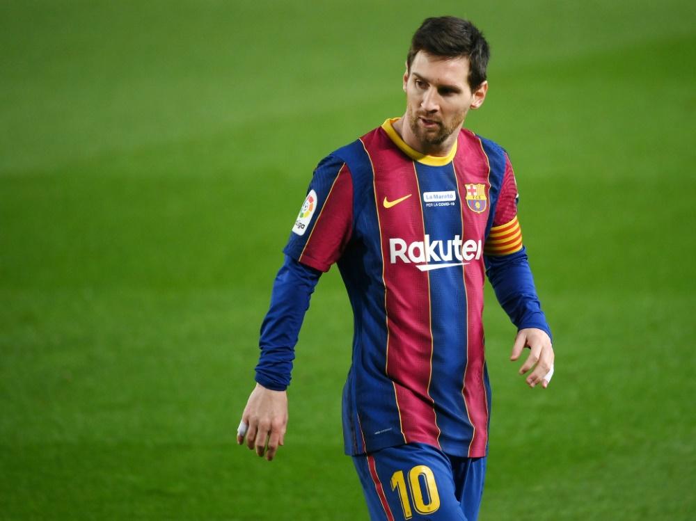 Lionel Messi wollte Barca im Sommer verlassen. ©SID LLUIS GENE
