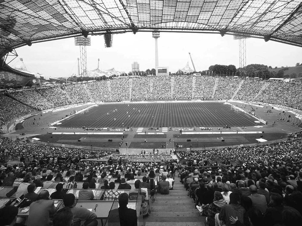 Das Olympiastadion in München. ©FIRO/SID