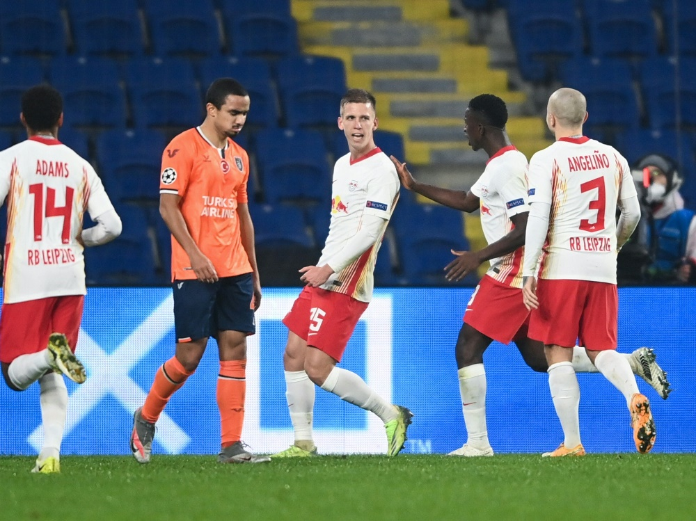 Leipzig schlägt Basaksehir Istanbul mit 4:3. ©SID OZAN KOSE