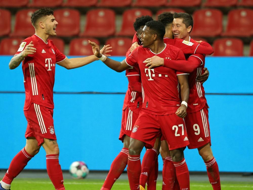 FC Bayern wird in WM-Stadien antreten. ©FIRO/SID