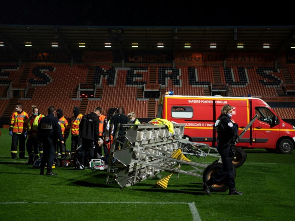 Tragischer Unfall in Lorient. ©SID LOIC VENANCE