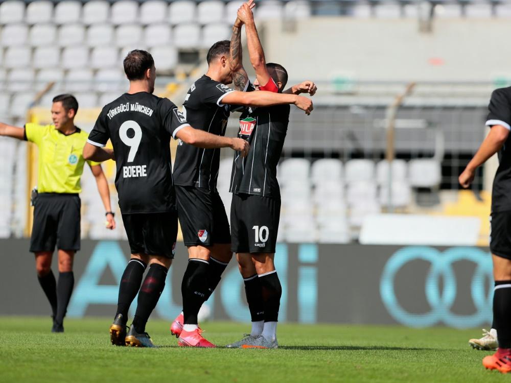 Türkgücü München bezwingt den SC Verl 1:0. ©FIRO/SID