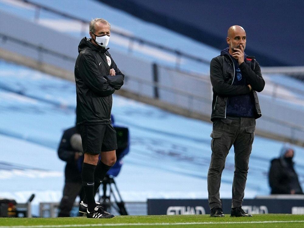 Das Spiel zwischen Everton und ManCity wurde abgesagt. ©SID DAVE THOMPSON