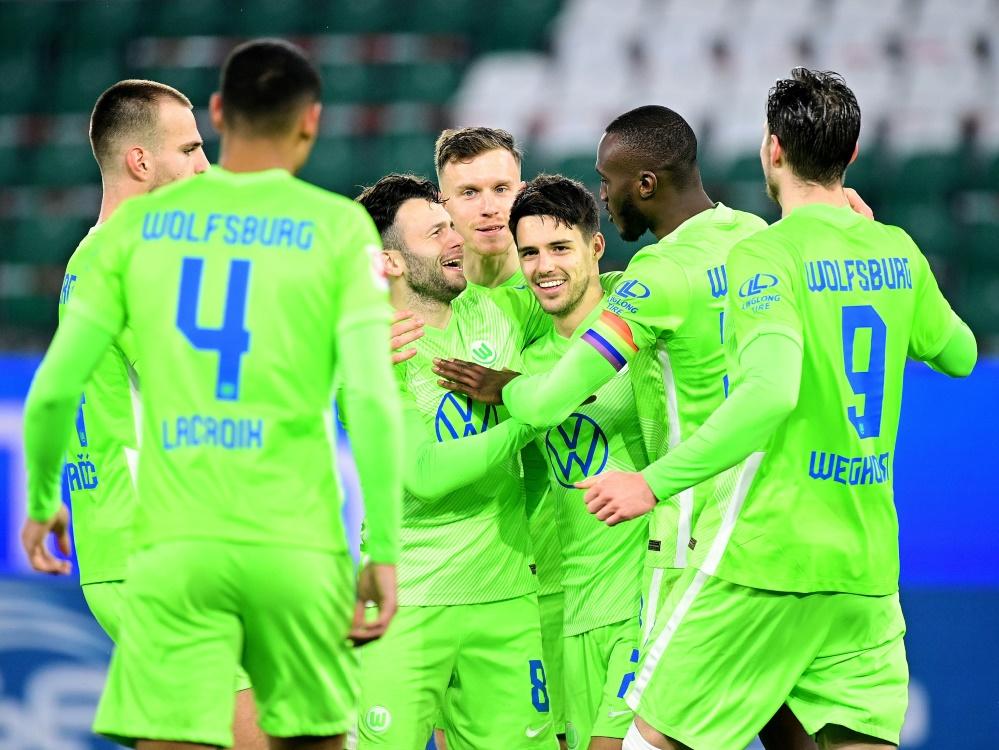 Brekalo lässt Wolfsburg jubeln. ©FIRO/SID