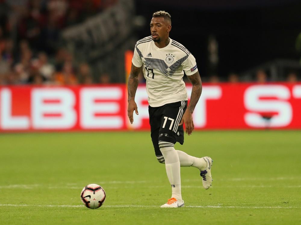 Jerome Boateng kann sich DFB-Comeback vorstellen. ©FIRO/SID