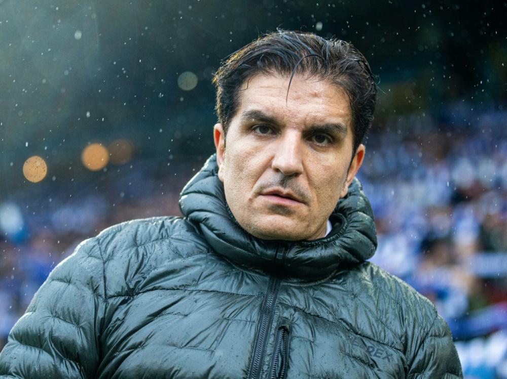 Kocak will mit Hannover ins Achtelfinale . ©FIRO/SID