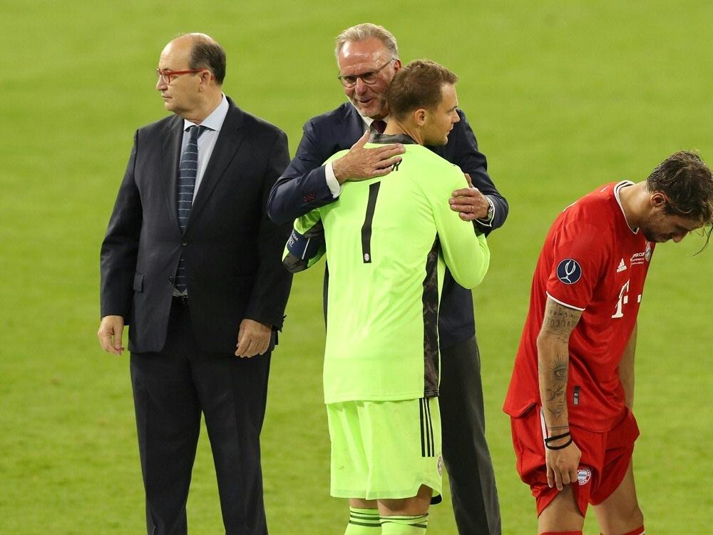 Rummenigge sieht den FC Bayern als weltweite Nummer eins. ©FIRO/SID