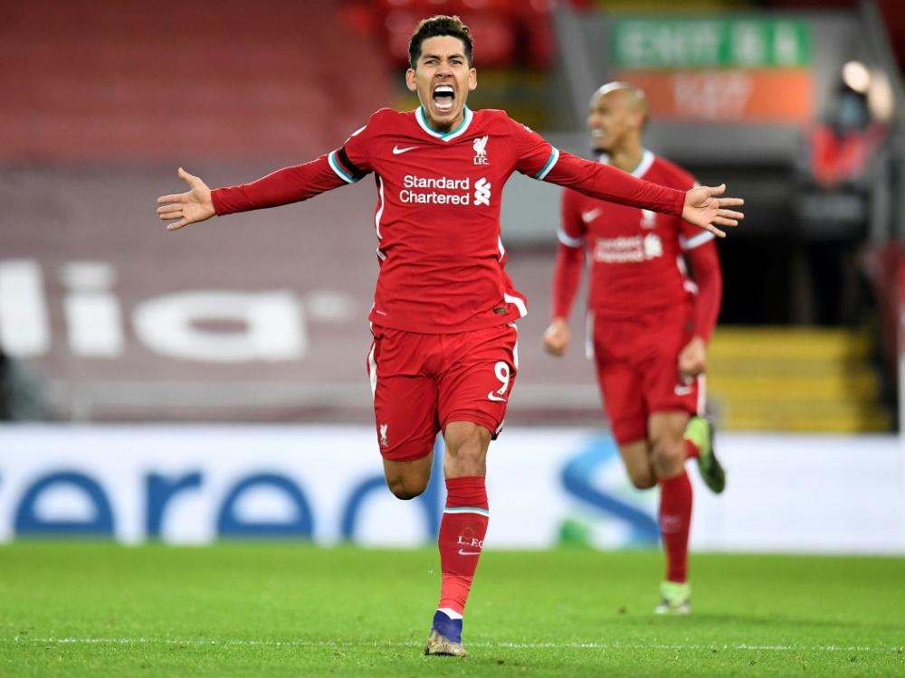Firmino traf zum Sieg für Liverpool. ©SID PETER POWELL