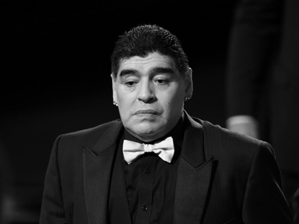 Diego Maradona verstarb in der vergangenen Woche . ©SID YURI KADOBNOV