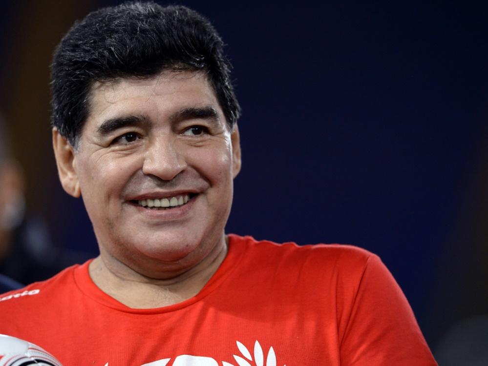 Justiz veröffentlicht Maradona-Untersuchung . ©SID FILIPPO MONTEFORTE