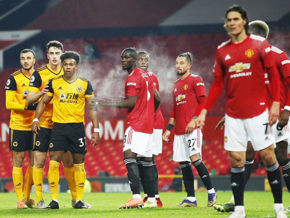 Die Premier League denkt nicht an eine Unterbrechung. ©COLORSPORT/SID
