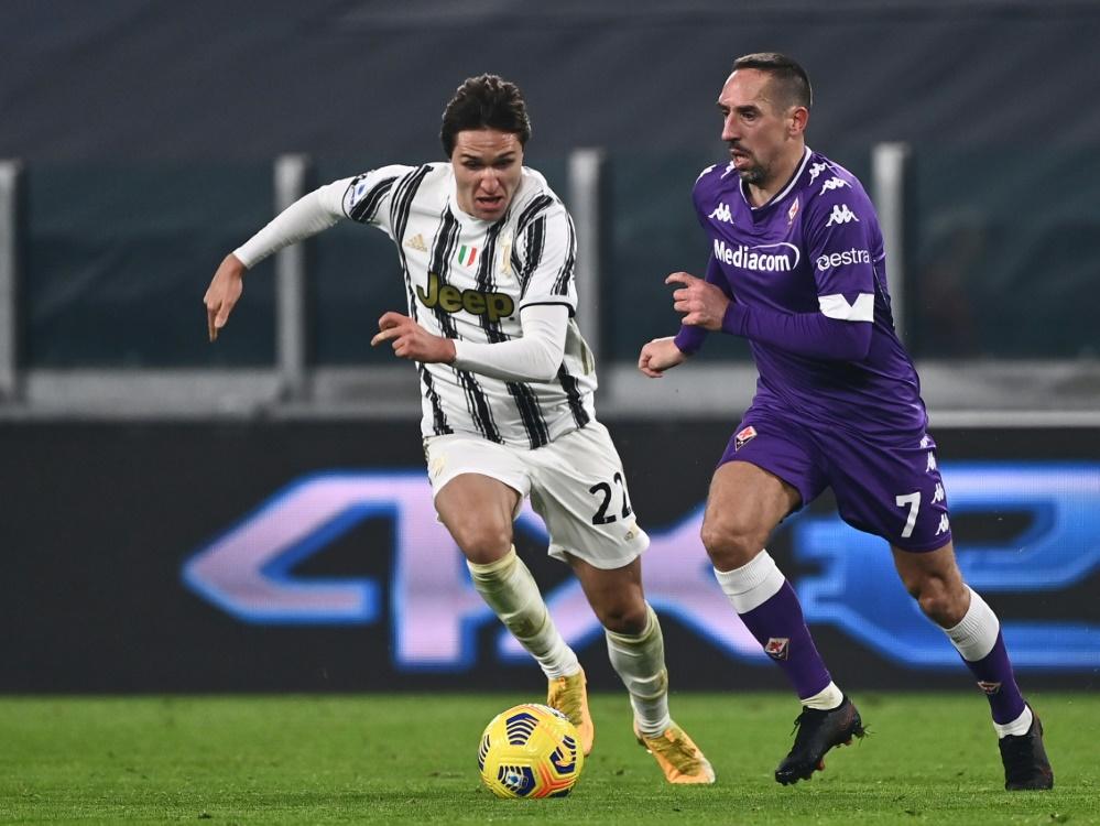 Juventus Turin liegt in der Seria A auf Platz vier. ©SID MARCO BERTORELLO