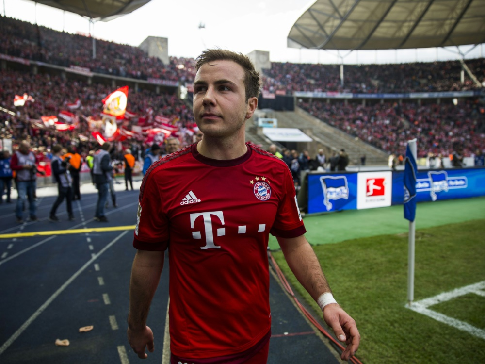 Götze sprach mit Bayern über mögliche Rückkehr. ©SID ODD ANDERSEN