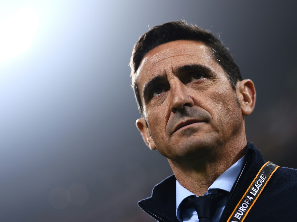 Zum vierten Mal Trainer von AEK Athen: Manolo Jimenez. ©SID MARCO BERTORELLO