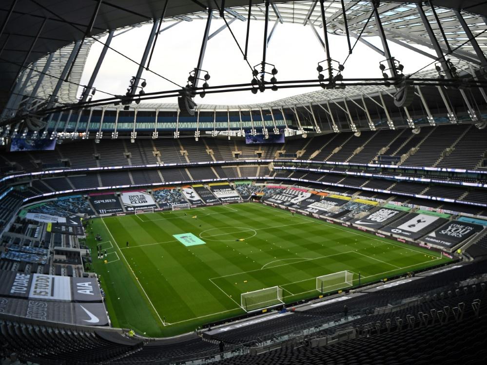 Ligaspiel zwischen Tottenham und Fulham abgesagt. ©SID ANDY RAIN