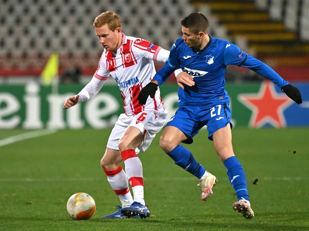Hoffenheim macht gegen Belgrad den Gruppensieg fest. ©SID ANDREJ ISAKOVIC
