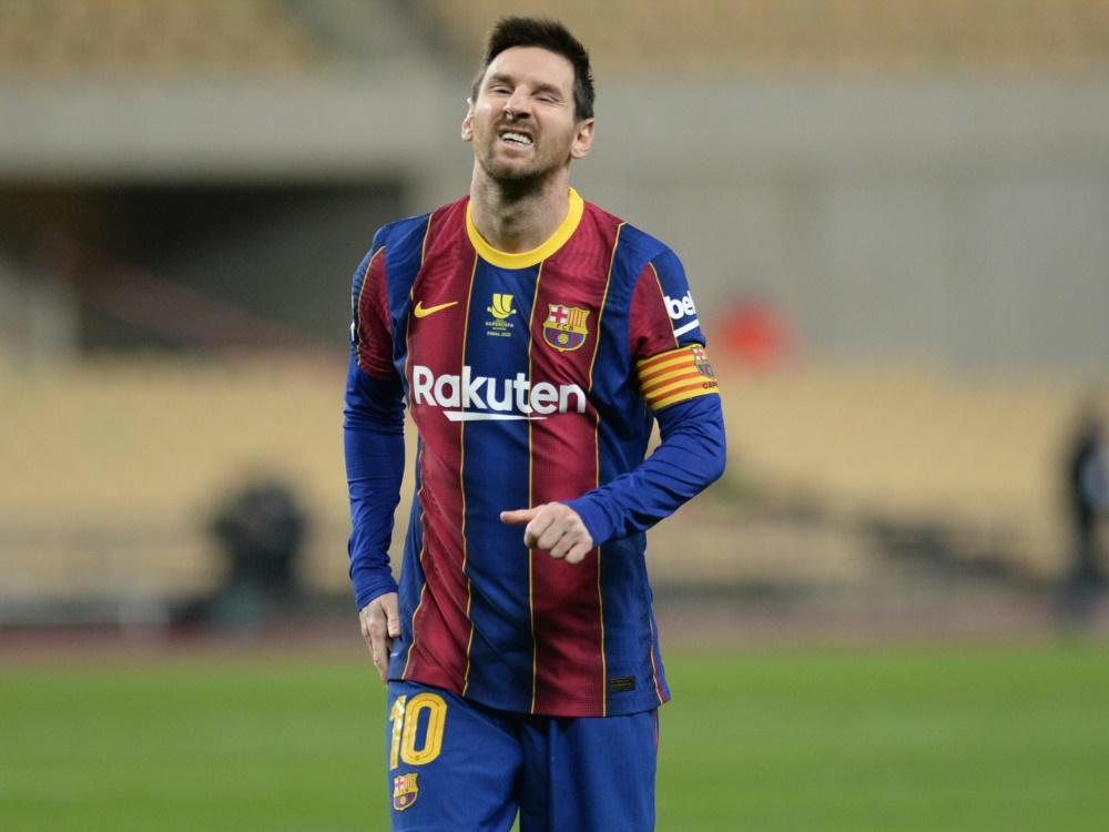 Finalpleite und Rot für Lionel Messi. ©SID CRISTINA QUICLER