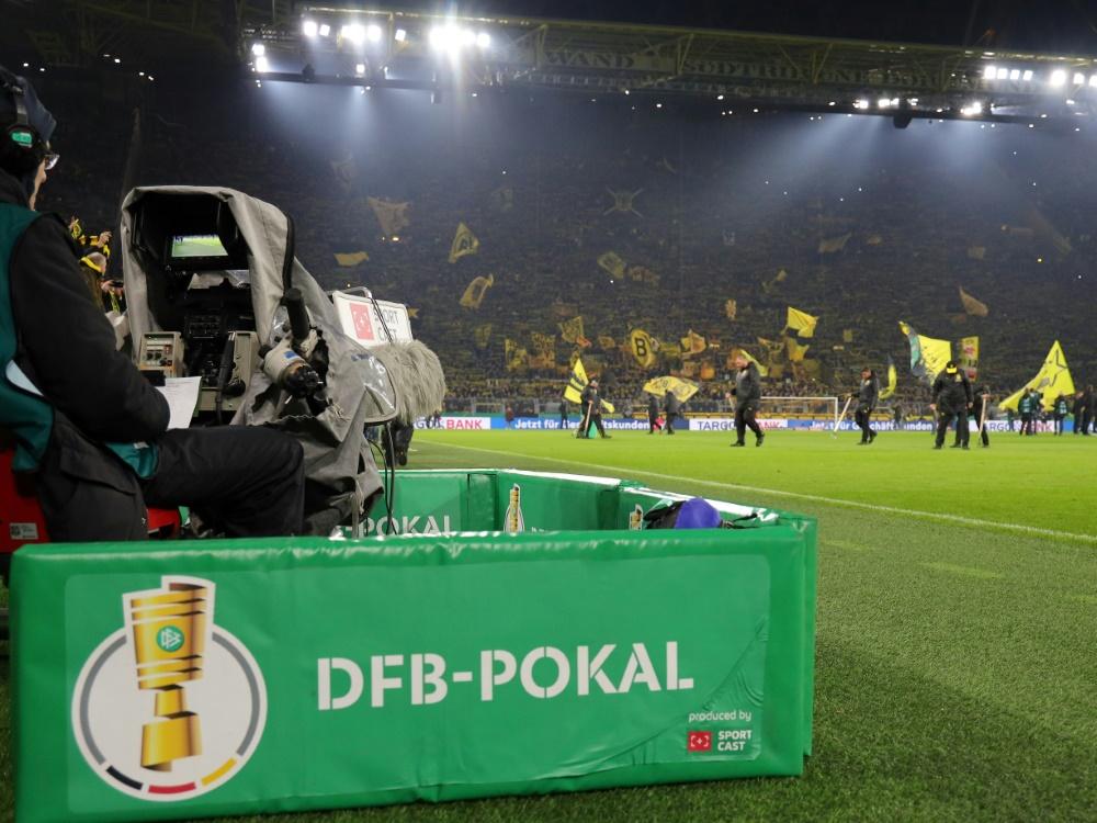 Zwei Bundesliga-Duelle im Achtelfinale des DFB-Pokals. ©FIRO/SID