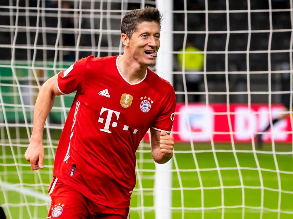 Titelverteidiger FC Bayern ist in Kiel klarer Favorit. ©FIRO/SID