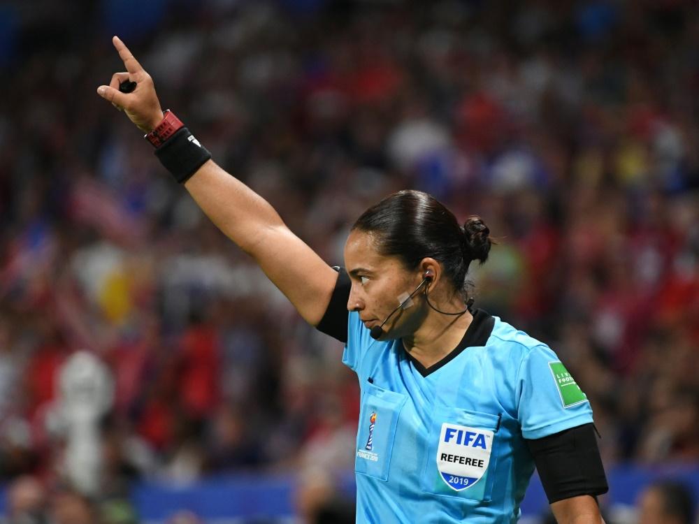 Edina Alves Batista: Erste Frau bei einer Klub-WM . ©SID JEAN-PIERRE CLATOT