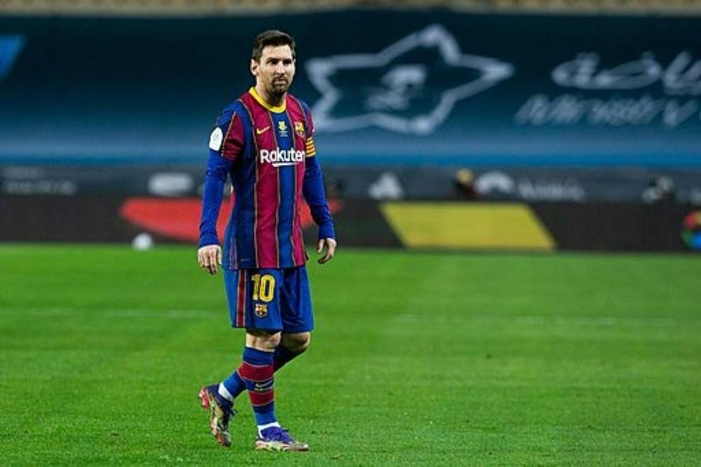 Lionel Messi bleibt gegen Elche gesperrt. ©FIRO/SID