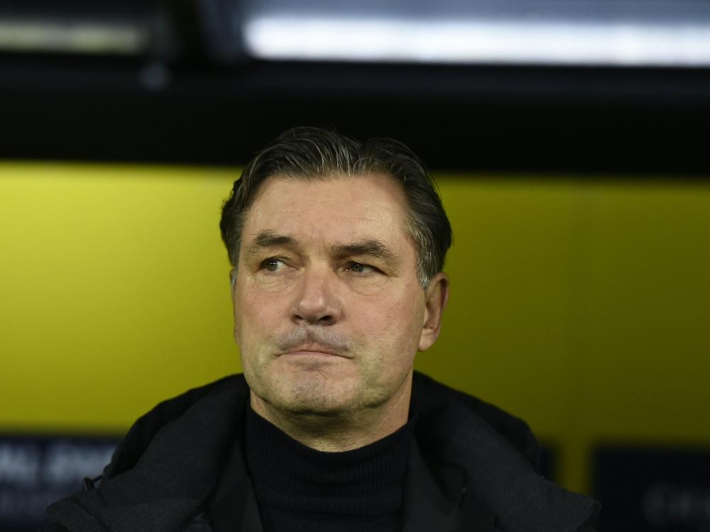 BVB-Sportdirektor Zorc erwartet Leistungssteigerung. ©SID TOBIAS SCHWARZ