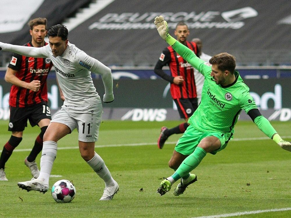 Amiri-Traumtor ohne Wert - Leverkusen verliert. ©SID DANIEL ROLAND