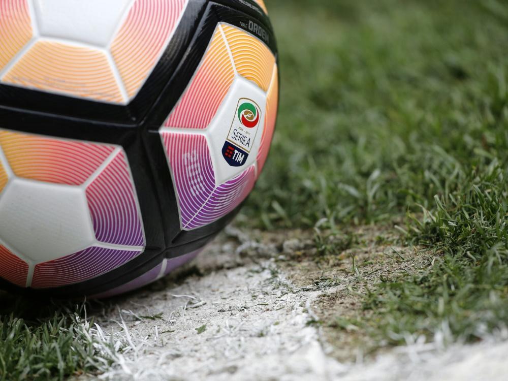 Italien schreibt für die Serie A  die TV-Rechte aus. ©SID MARCO BERTORELLO