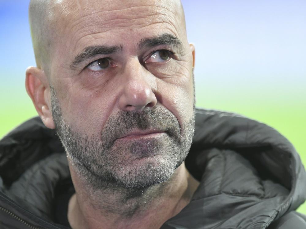 Leverkusen: Bosz will gegen Bremen einen Sieg einfahren. ©SID BERND THISSEN