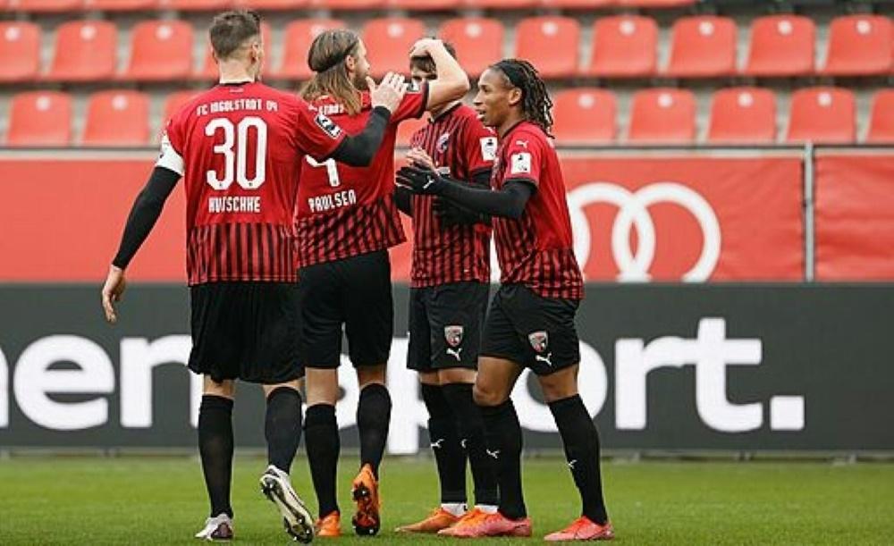 Ingolstadt gewinnt beim FSV Zwickau. ©FIRO/SID