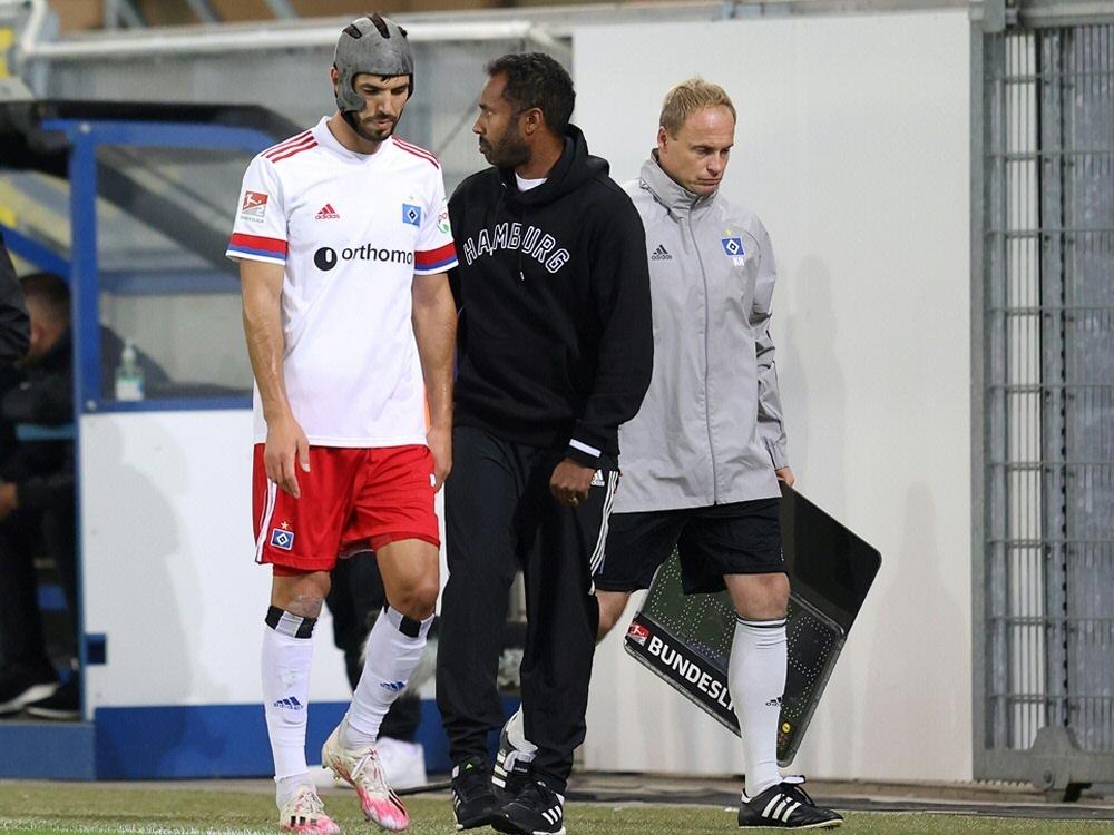 Der HSV muss vorerst auf Klaus Gjasula verzichten. ©FIRO/SID
