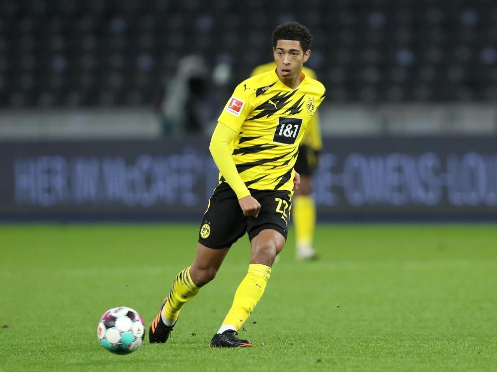 Dortmunds Jude Bellingham ist wieder fit. ©FIRO/SID