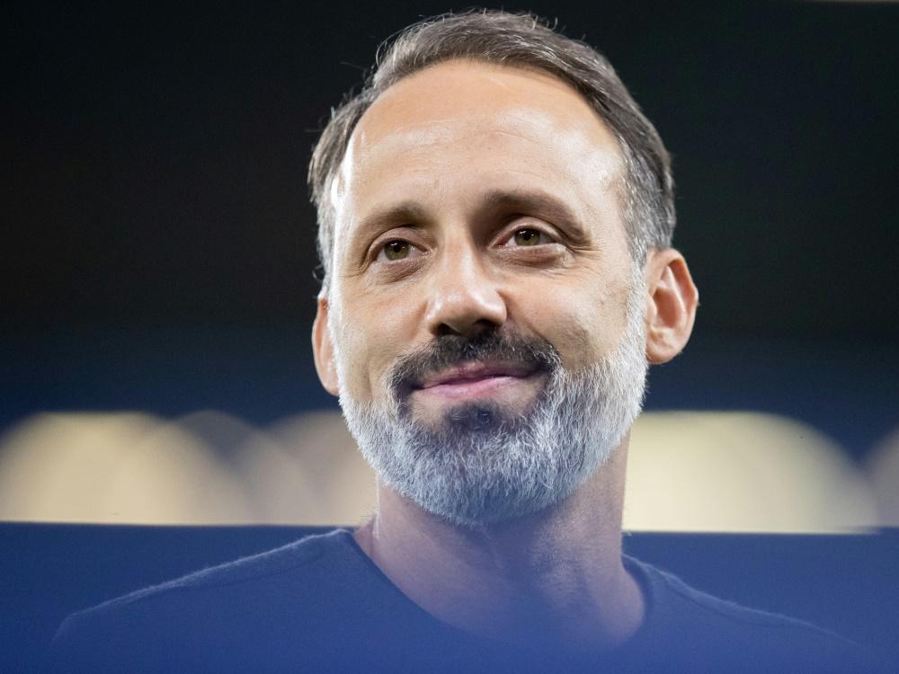 Matarazzo legt den Fokus auf das Spiel gegen Leipzig. ©FIRO/SID