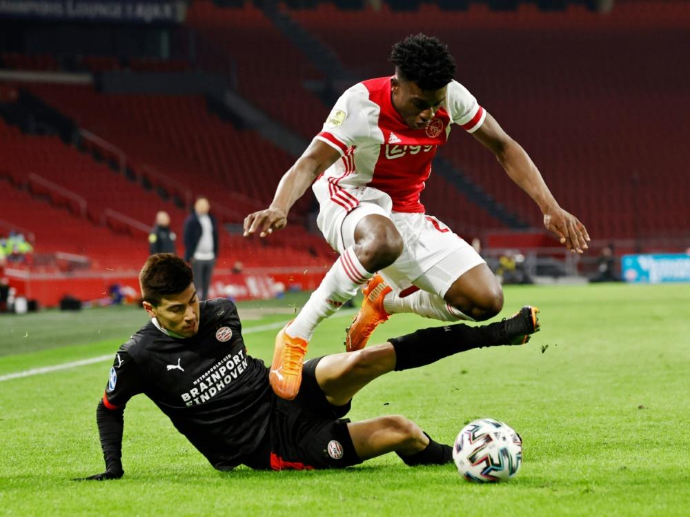 Ajax Amsterdam und PSV Eindhoven trennen sich 2:2. ©ANP/SID MAURICE VAN STEEN