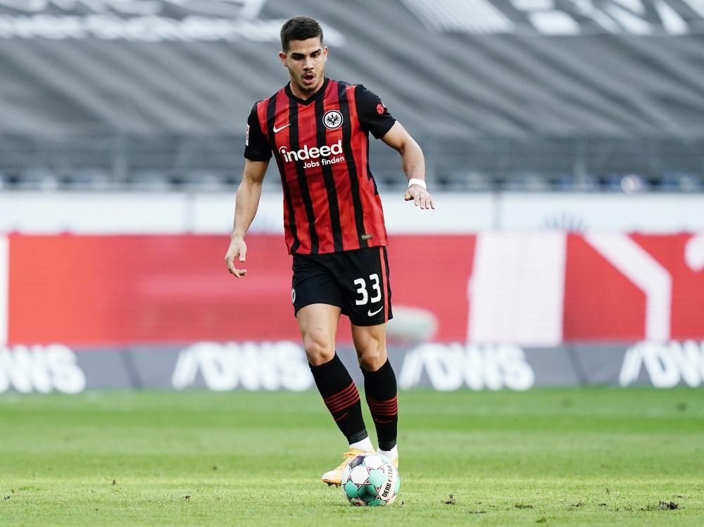 Matchwinner: Andre Silva trifft gegen Mainz 05 doppelt. ©FIRO/SID