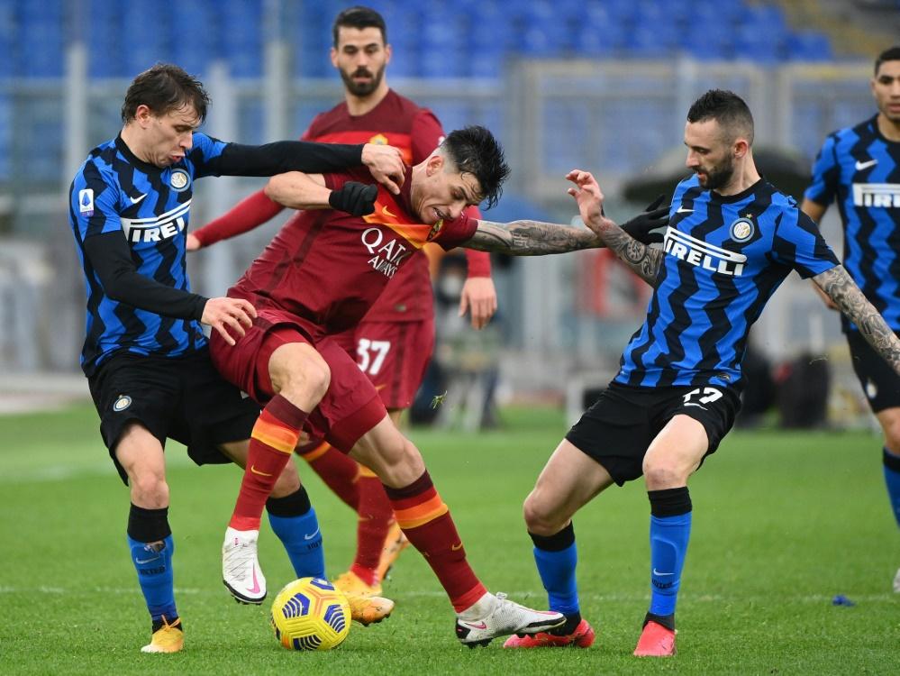 Inter Mailand und AS Rom trennen sich 2:2. ©SID VINCENZO PINTO